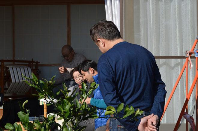 俳優の藤本さんが我が家に来られました!