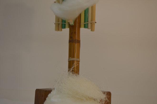 真綿から続く一本の糸!
