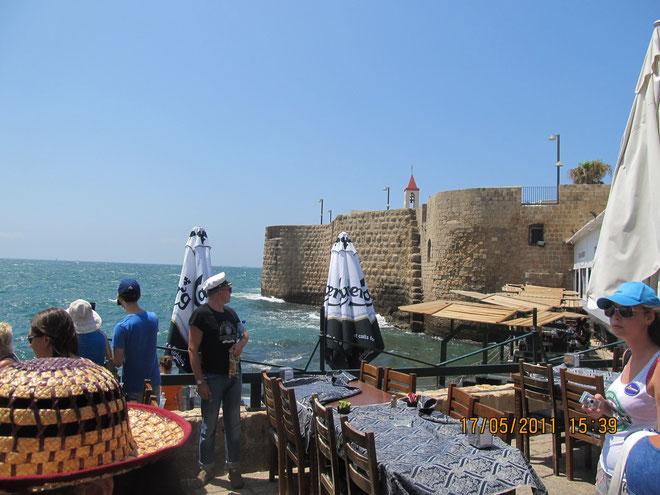 морские стены Акко
