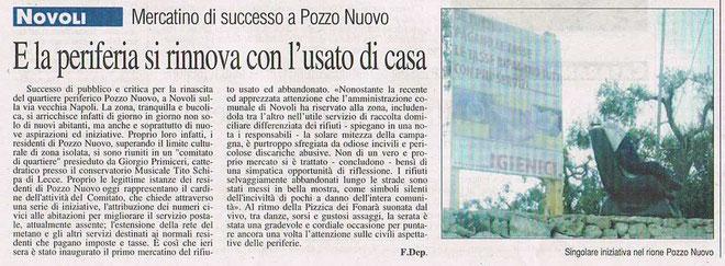 Quotidiano di Lecce, 28/2/2012