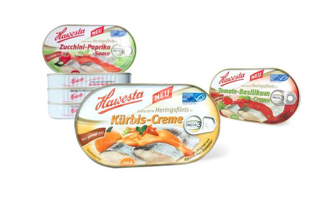Hawesta - Feinkost - Heringsfilet - Fisch - Verpackung - Packaging - Design - DesignKis -2013