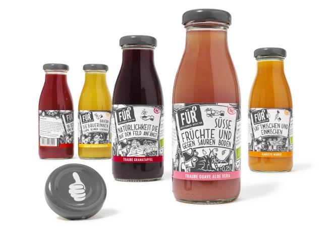 VOELKEL - Für - Bio - Saft - fair - Packaging - Design - DesignKis - 2015 - Verpackung