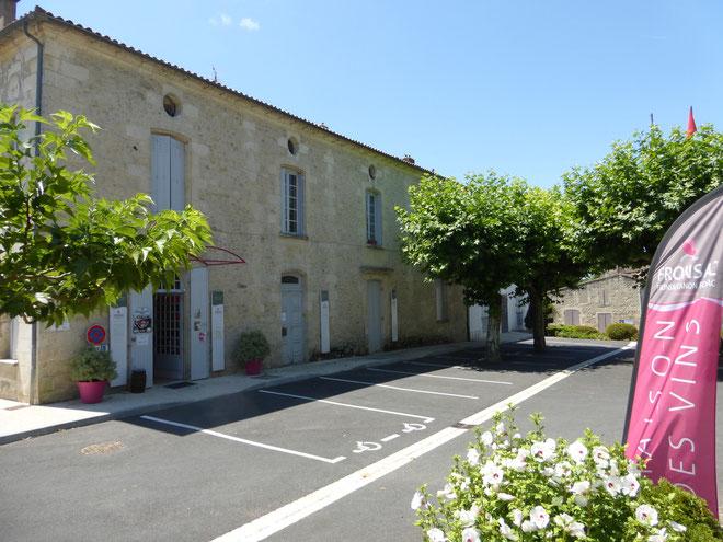 la maison des vins de Fronsac - dégustation