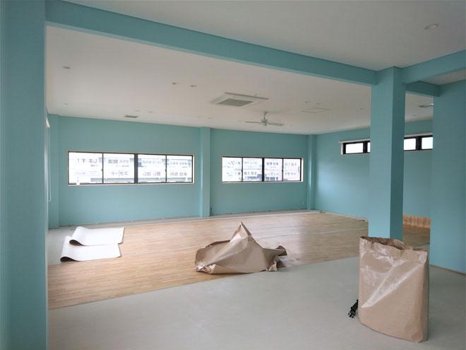 愛知県長久手市 新規開業の卓球場の激安リフォーム