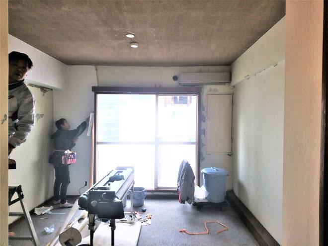 愛知県名古屋市 事務所の内装工事