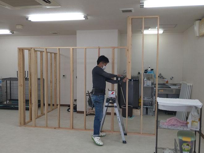 愛知県名古屋市港区 ペットショップのリフォーム工事