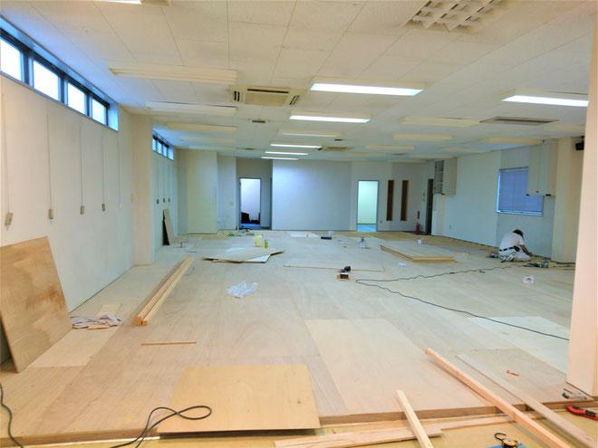 愛知県安城市 新規店舗改装工事
