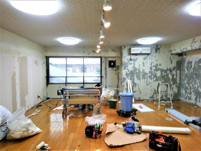 名古屋市 新規開業店舗の内装工事