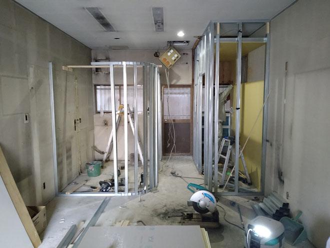イクメンリフォームによる店舗内装工事