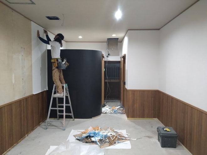 イクメンリフォームによる岐阜県大垣市の新規開業の店舗内装工事