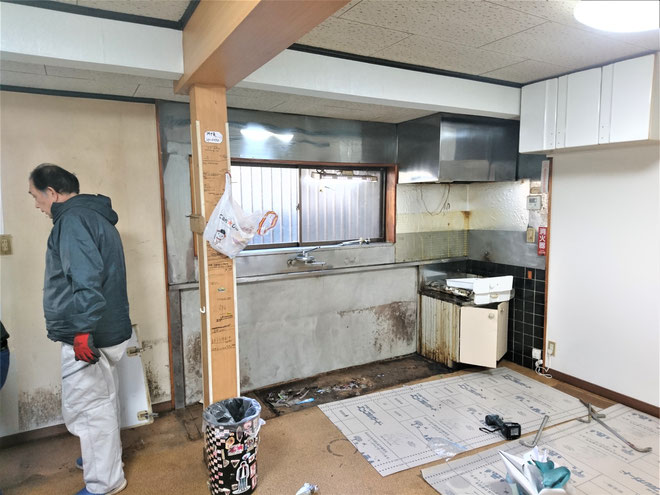 岐阜県山県市 システムキッチンの激安リフォーム