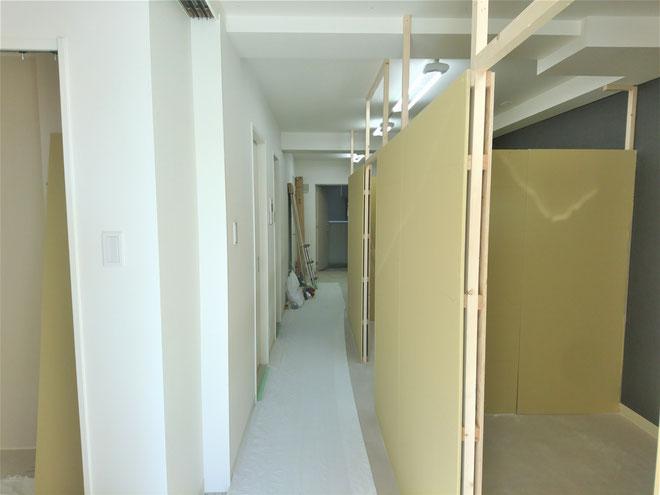 愛知県名古屋市 ネイルサロンの新店舗の激安内装リフォーム工事
