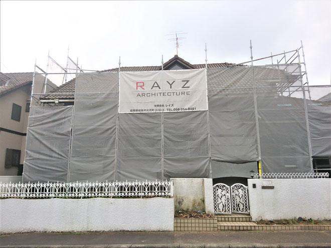 岐阜県各務原市 住宅の激安外壁塗装工事