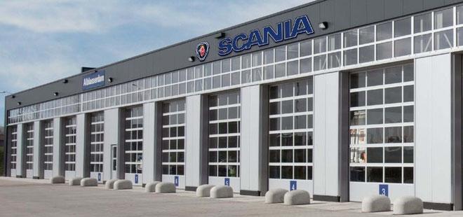 Alu40 Sektionaltore - Licht und Eleganz für Autohäuser und Werkstätten