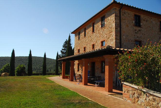 Im Albergo finden wir jeden Urlaubstag in der Toskana Ruhe, Entspannung, Genuß ... und Essen und Trinken vom Feinsten