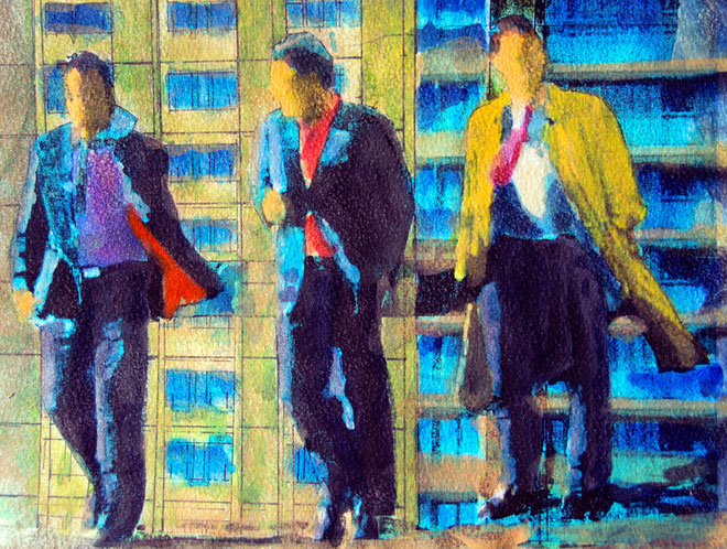 Wise Guys 2007 (Mixed media) Fergus Murray