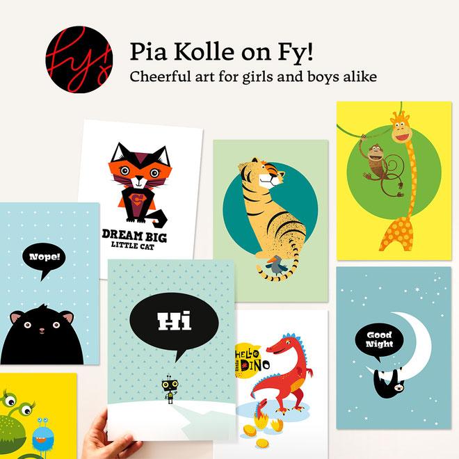 Kinderzimmerbilder auf Fy!