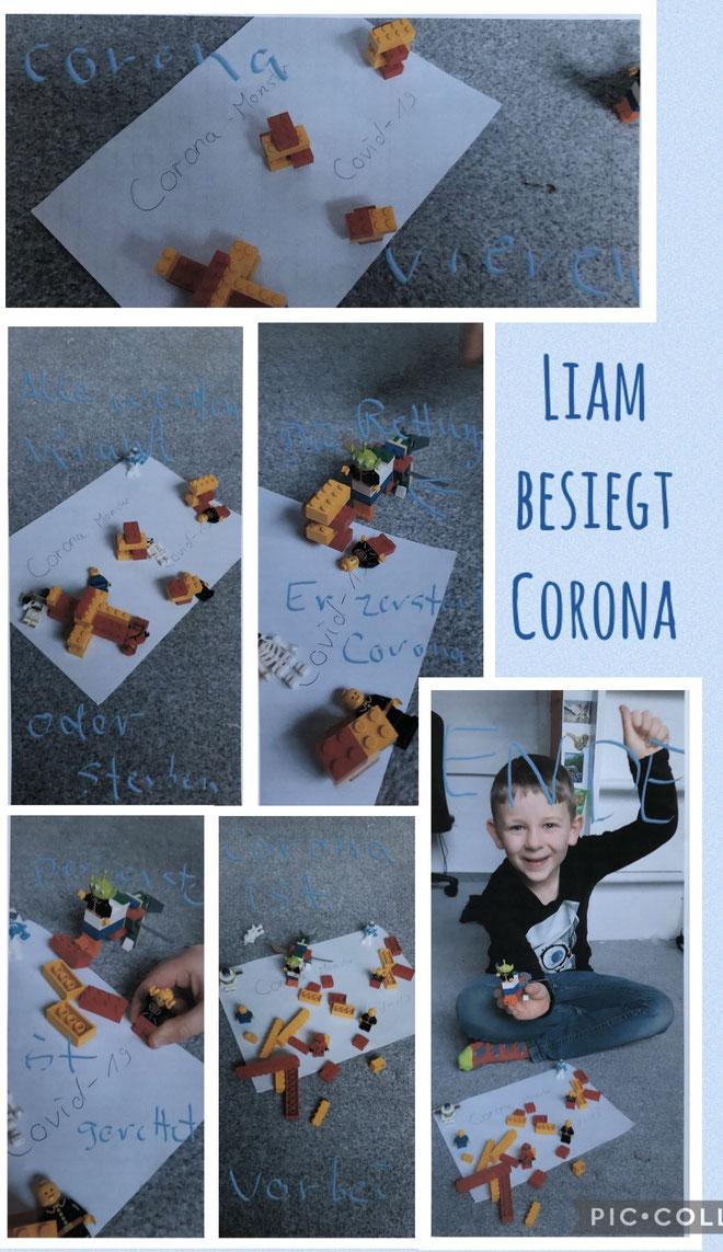 Liam besiegt Corona.                                                                                                                 Liam, SKG