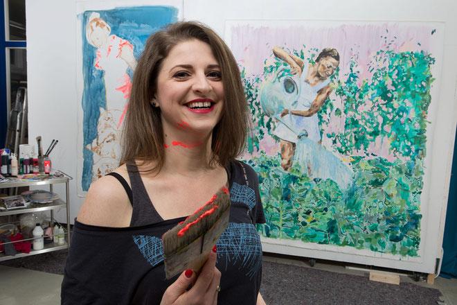 Portrait of Zoë MacTaggart