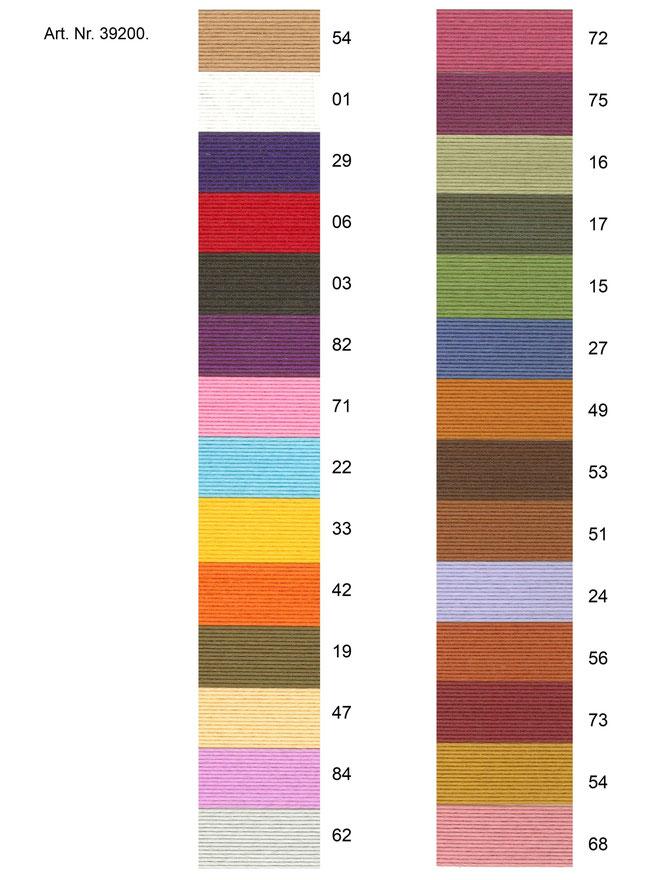 Farbbänder - verschiedene Farben
