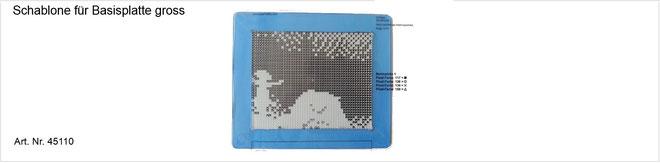 Hilfsschablone für Pixel hobby