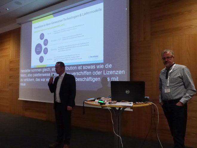 DeafIT Konferenz 2018: Rafael Ulrich & Harald Uebele von TechData