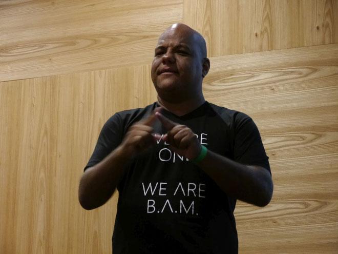 DeafIT Konferenz 2018:  Joaquim Amado Da Silva Júnior aus Brasilien