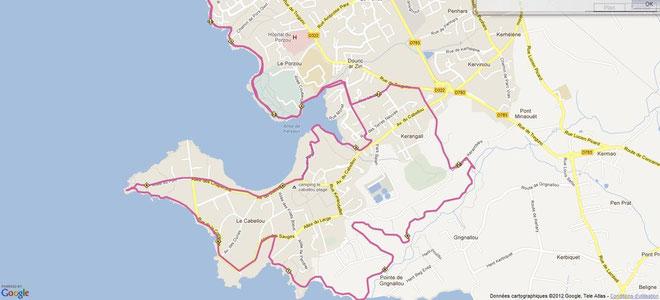 Parcours de 13,5km