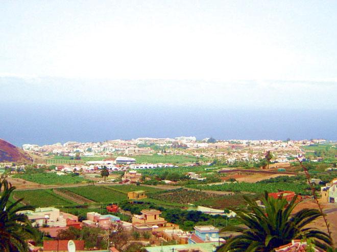 Blick über Puerto de la Cruz