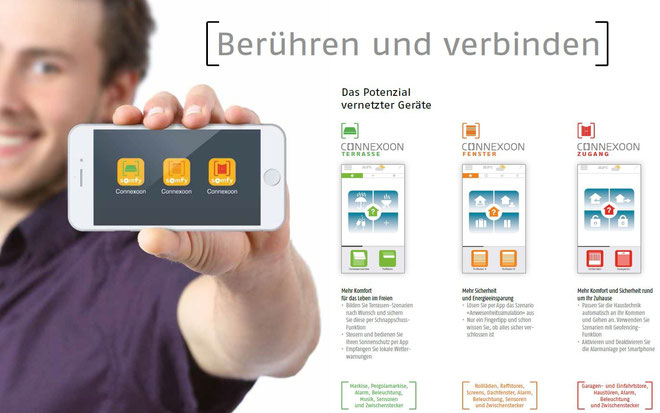 Somfy CONNEXXOON Smart Home – Steuerung – Fenster