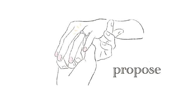 プロポーズリング