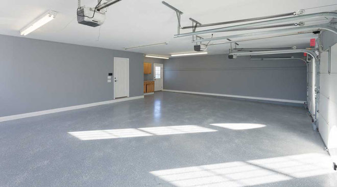 suelo para garaje con hormigon pulido