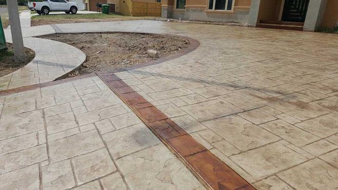 suelo para patios