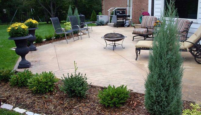 Suelo y pavimentos para jardín