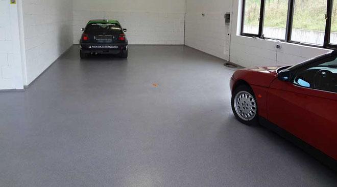 suelo para garaje