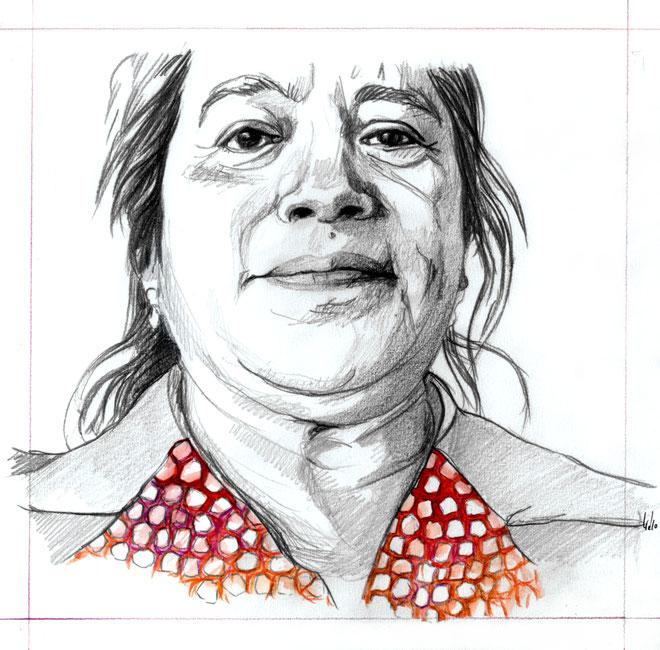 Ilustración de portada Revista Ca la Dona (Barcelona). 2010