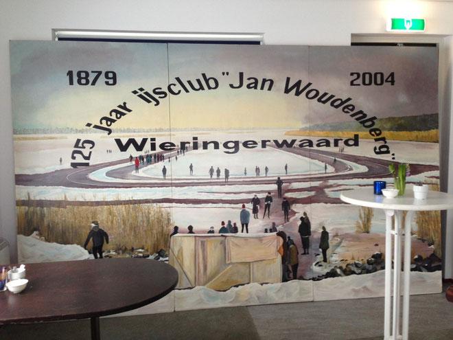 Het jubileum schilderij gemaakt in 2004 door Dhr. D. Schook