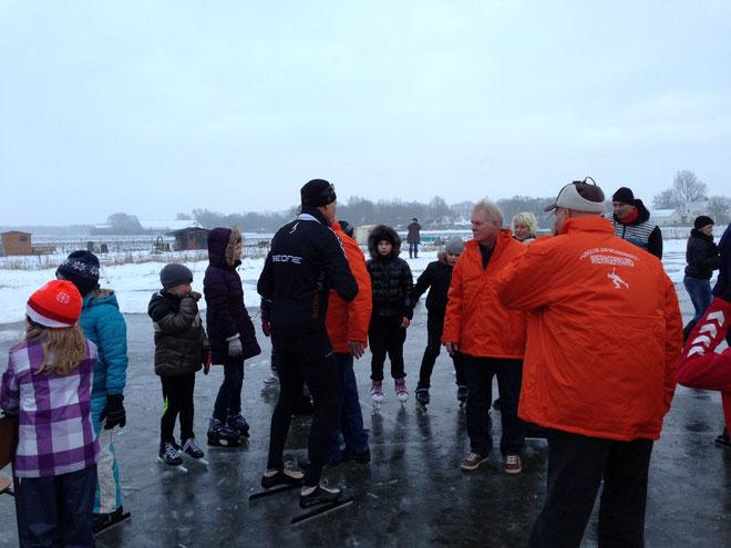 Ard het ijs op met de jeugd van Wieringerwaard achter zich aan!