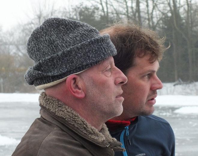ijsmeester van de club Gerrit de Gier