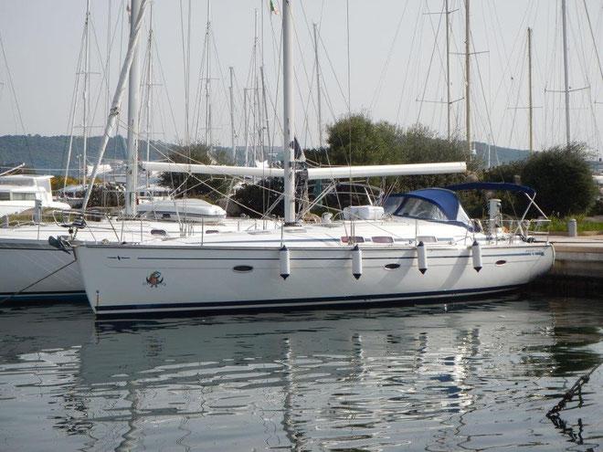 aktiv mitsegeln auf Bavaria 46 Cruiser zwischen Sardinien und Korsika