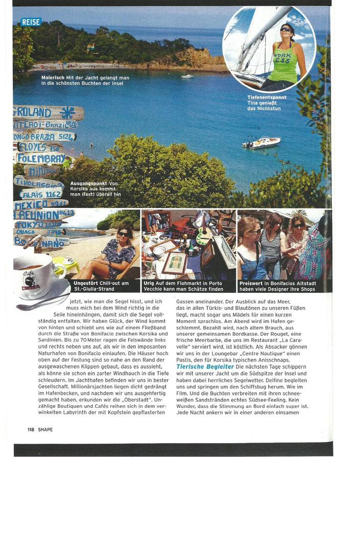 Pressebericht - viagempirata Segeltörn Sardinien und Korsika