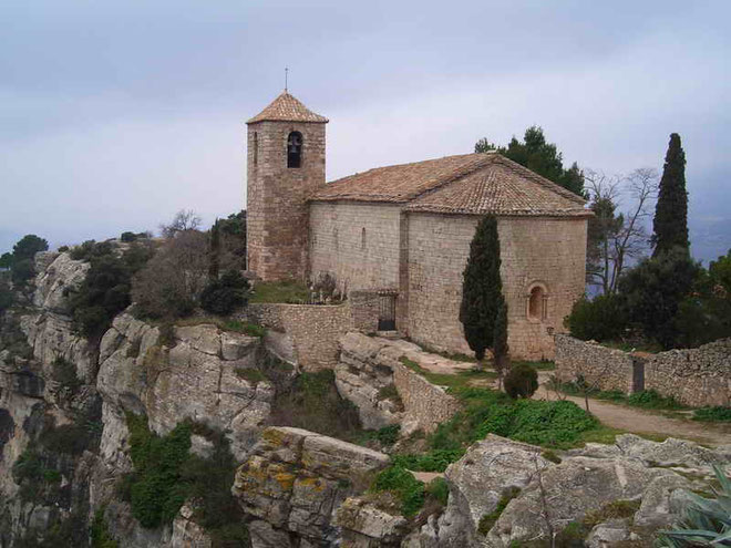 Церковь Санта Мария де Сиурана