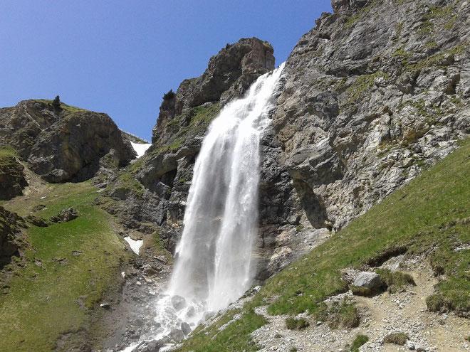 La natura della montagna al Passo di Resia in Alta Val Venosta - Trentino Alto Adige