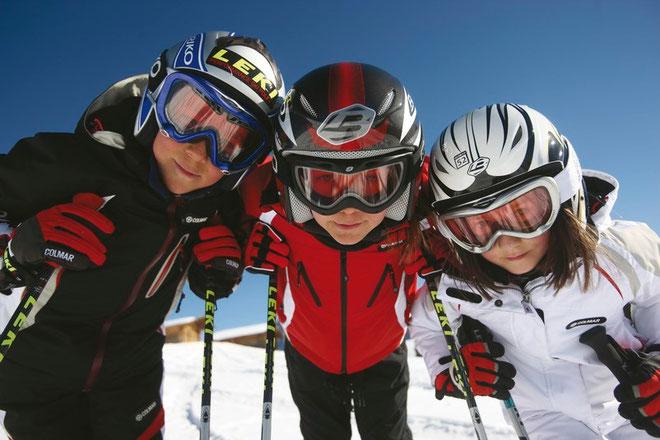 Scuola di sci al Passo di Resia in Alta Val Venosta - Trentino Alto Adige - divertimento nella settimana bianca