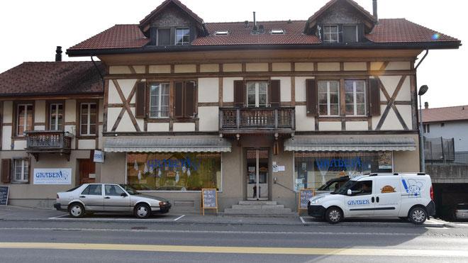 Laden Wimmis: Bäckerei Graber Berner Oberland
