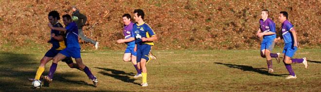 (0-1) Olivier; (3-2) Yannick; (3-3) Mickey.