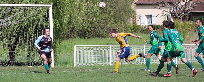 Les attaquants des Bisons n'ont pas trouvé le chemin des filets à Montignac, ce qui ne leurs était pas arrivé depuis 32 match !