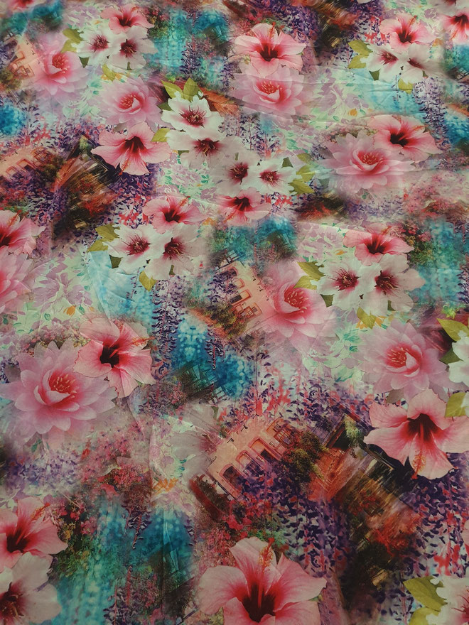 Polyester 150 cm breit  6 € mtr
