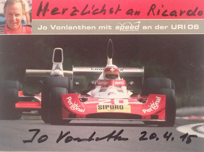 Autogramm Jo Vonlanthen Autograph