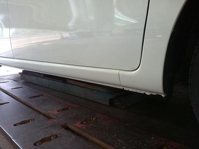 Honda Nワゴン 左サイド修理 0012